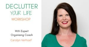 Declutter Your Life Workshop Tickets