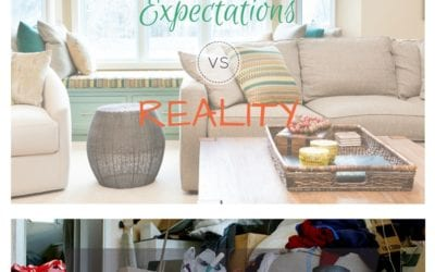 Could the Expectations vs Reality be Keeping You Stuck in Clutter?