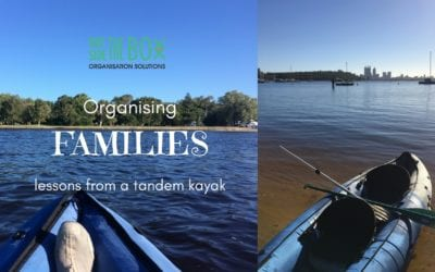 Organising Families – What a Tandem Kayak Taught Me Part 2.