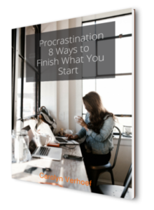 Download your copy of Procrastination 8 Ways to Finish what You Start