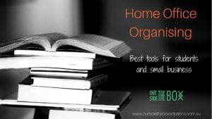Home Office Organising the best tools for students and business