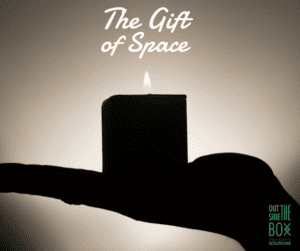 Give less clutter gifts of space